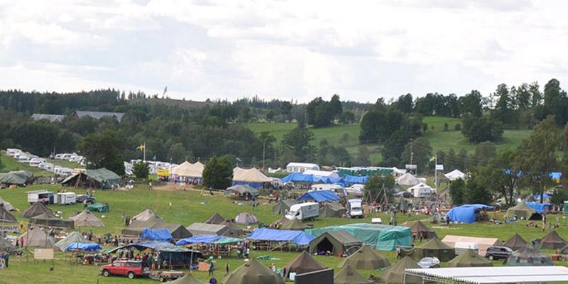 Läger vid Fegen